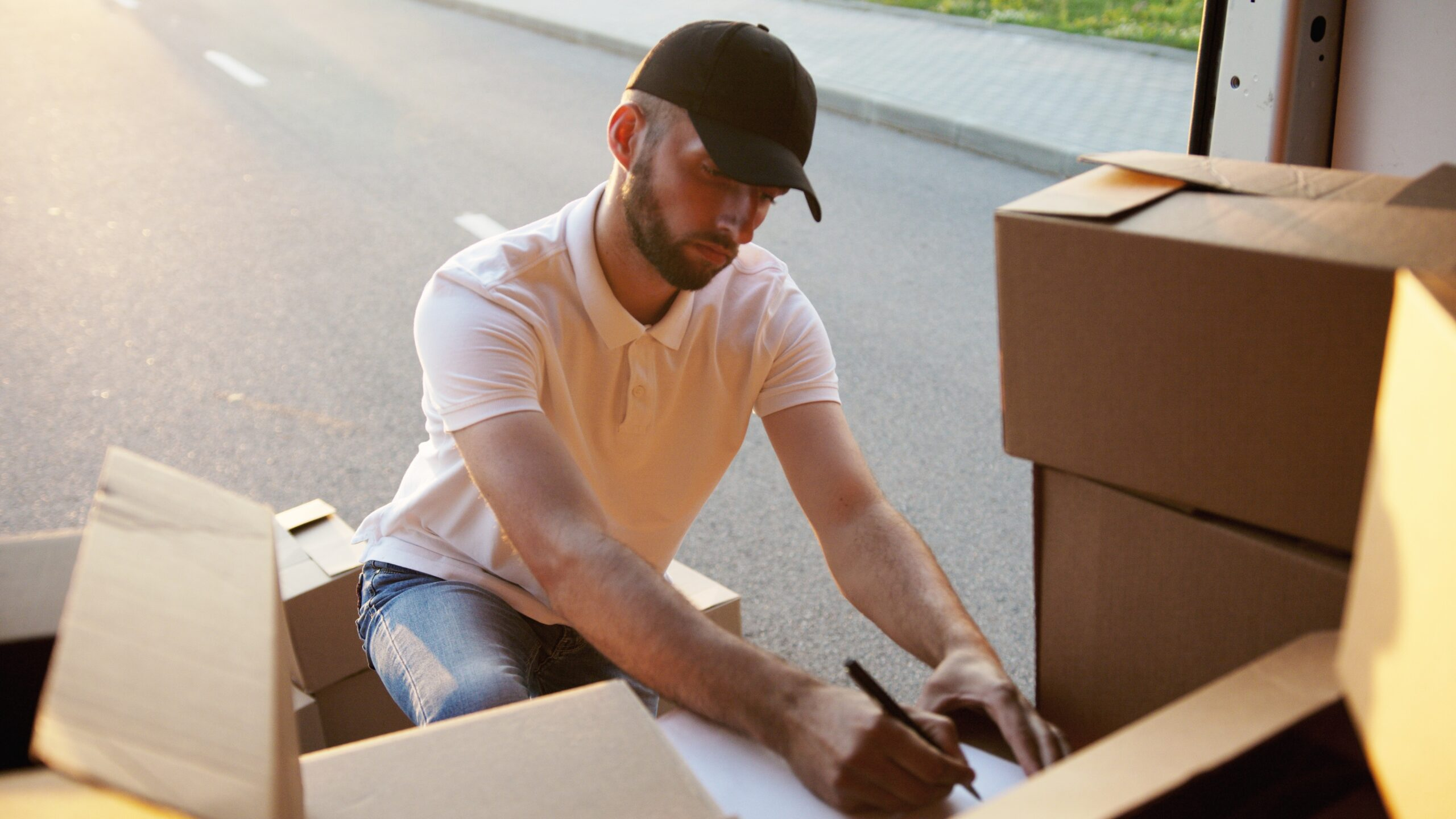déménagement avec monte-meubles